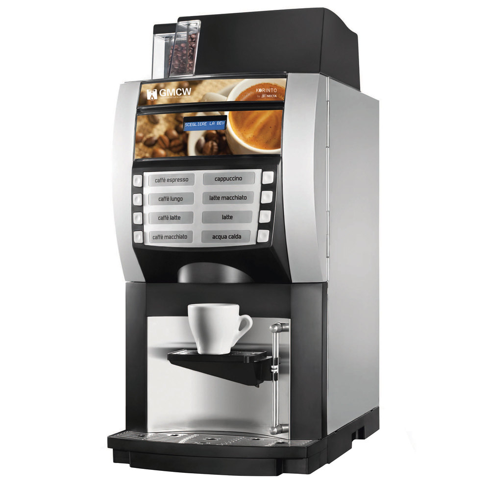 Doral Designs Coffee Maker With Grinder And Timer : Grindmaster 66101 Korinto 1/2 Super Automatic Espresso Machine with One Bean Hopper and Two ...