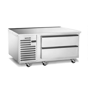 """Traulsen TE060HT 2 Drawer 60"""" Refrigerated Chef Base - Specification Line"""
