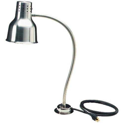 "Carlisle HL818500 FlexiGlow 24"" Single Arm Aluminum Heat Lamp - 120V"