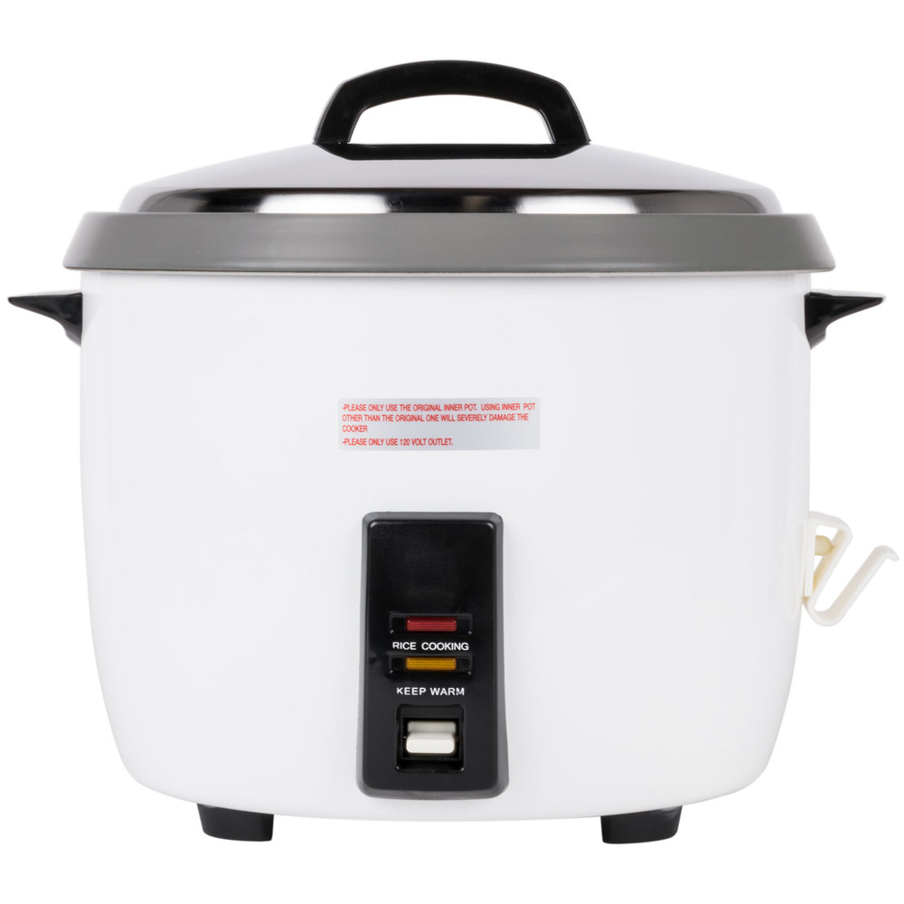 60 cup 30 cup raw non stick commercial rice cooker and. Black Bedroom Furniture Sets. Home Design Ideas