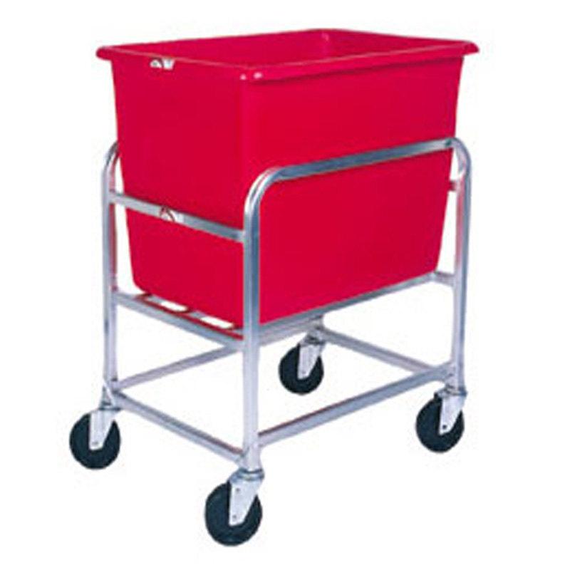 Winholt 30-6-A/RD Aluminum Bulk Mover with 6 Bushel Red Tub Main Image 1
