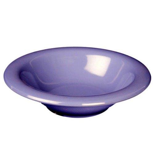 Thunder Group CR5712BU Purple 15 oz. Melamine Soup Bowl - 12/Case