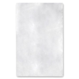 """78"""" x 80"""" T-250 King Size White Fitted Sheet - 24/Case"""