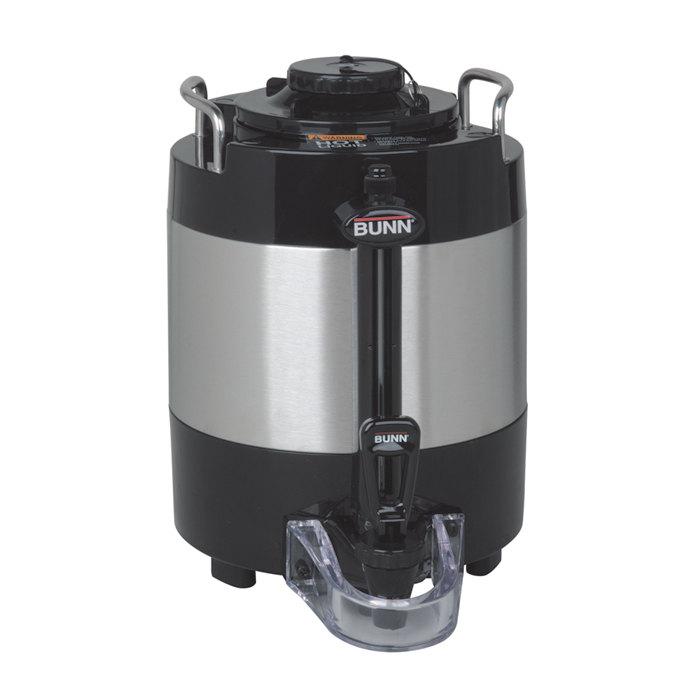 Bunn 44000.0050 TF 1 Gallon ThermoFresh Stainless Steel Coffee Server - No Base Main Image 1