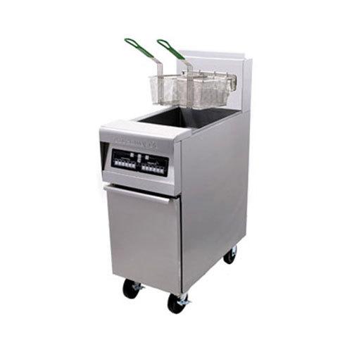 Frymaster PH155 Liquid Propane High Efficiency Fryer 50 lb. - 80,000 BTU
