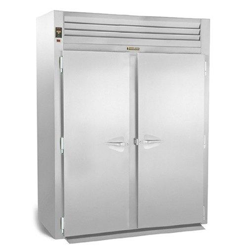 "Traulsen RIF232HUT-FHS 68"" Stainless Steel Solid Door Roll-In Freezer"