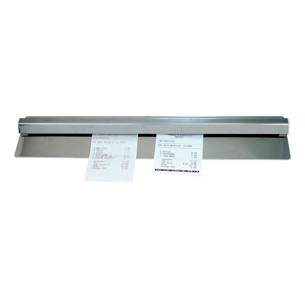 "Advance Tabco CM-48 48"" Aluminum Guest Check Holder"