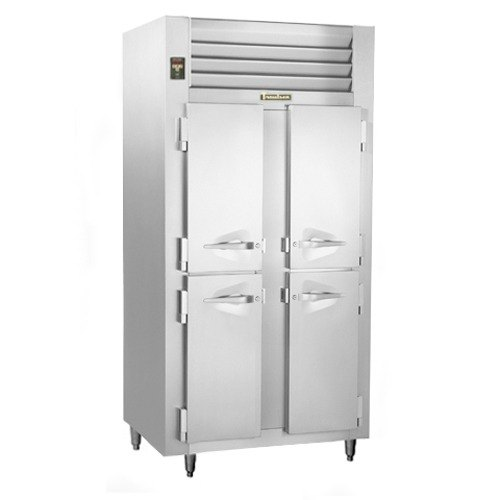 Traulsen ALT232NUT-FHS 46 Cu. Ft. Two-Section Solid Door Narrow Reach-In Freezer - Specification Line Main Image 1