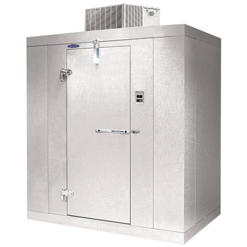 "Nor-Lake KLF612-C Kold Locker 6' x 12' x 6' 7"" Indoor Walk-In Freezer Main Image 1"