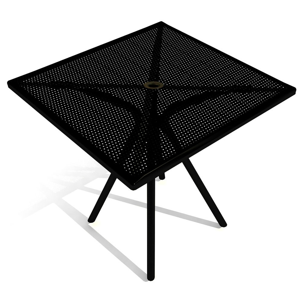Square restaurant tables - American Tables And Seating Ab3030 30 Inch X 30 Inch Black Square Outdoor Table