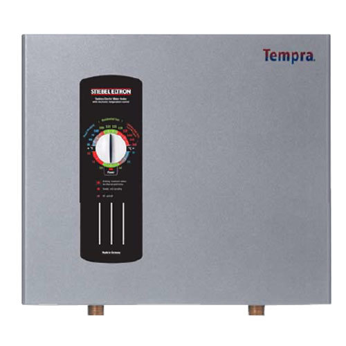 Stiebel Eltron 223424 Tempra 24 Whole House Tankless Electric Water Heater - 18/24 kW, 0.58 GPM