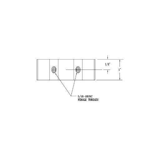 T&S 000236-20 Wall Bracket Clamp