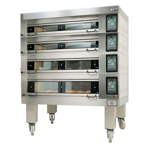 """Doyon 4T4 Artisan 4 Stone Side Load 56"""" Deck Oven - 16 Pan Capacity, 208V, 3 Phase"""