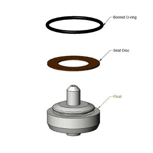T&S 001301-45R Repair Kit for 001301-45 Vacuum Breaker Main Image 1