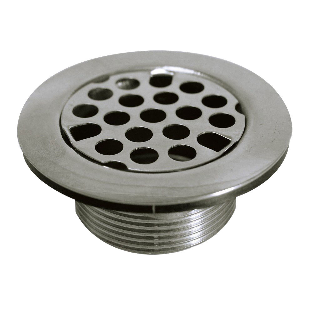 Advance Tabco K 63 2 inch Drain Assembly with Strainer Plate   1 1. Bar Sink Stoppers  Parts   WebstaurantStore