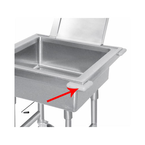 Advance Tabco 9-SS-2 Corner Bumper for Mobile Soak Sinks - 4/Pack