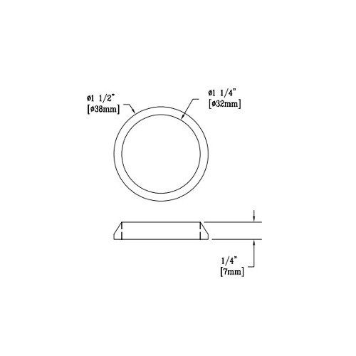 T&S 010390-45 Waste Drain Coupling Nut Main Image 1