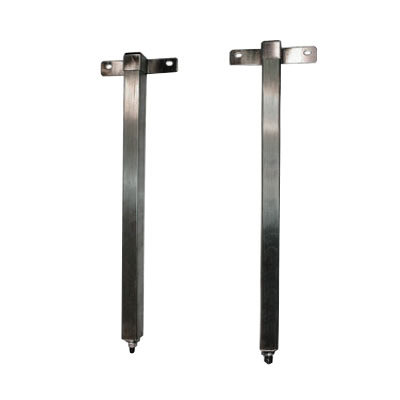 APW Wyott 76180 Tubular Stand Set for Calrod Strip Warmers - Permanent Countertop Mounting Main Image 1