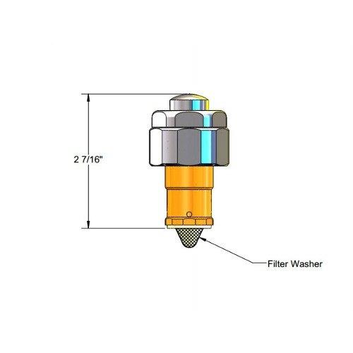 T Amp S 011399 40 Floor Mounted Foot Pedal Metering Cartridge