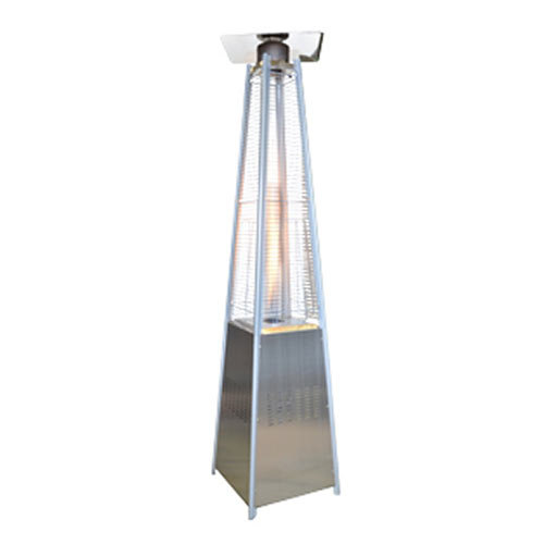 Stainless Steel Propane or Butane Outdoor Patio Heater with Quartz Tube
