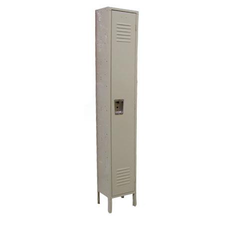 "Single Column 1-Tier Locker 18"" x 12"""