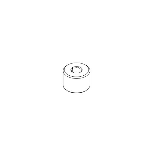 T&S 014554-25 Chrome Plated Nipple with 7/8-20 UN Connections
