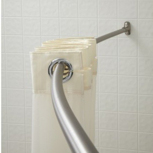 shower and accessories the rod hardware categories rods canada bath bathroom en tub rectangular home curtain p depot