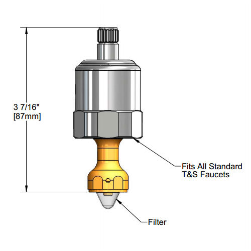 T&S 015317-40 Fast Close Bubbler Cartridge