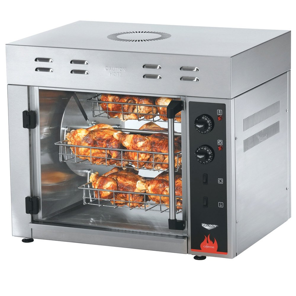 vollrath 40704 countertop rotisserie oven 208 240v. Black Bedroom Furniture Sets. Home Design Ideas