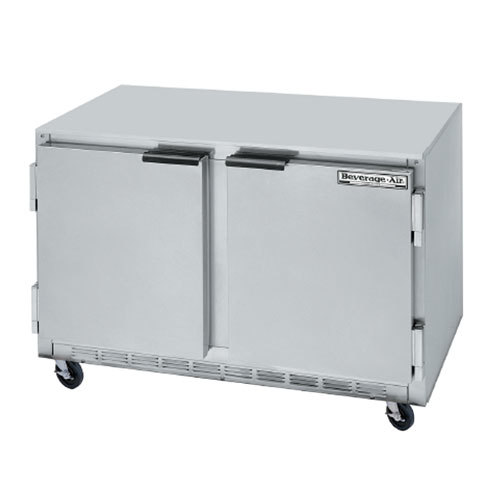 "Beverage-Air UCRF50A-1-SA-B 50"" Dual Temp Undercounter Refrigerator / Freezer"