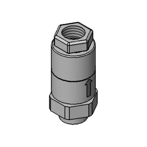 """T&S B-0975 Dual Check Valve Type Vacuum Breaker with 3/8"""" NPT Female Connections"""