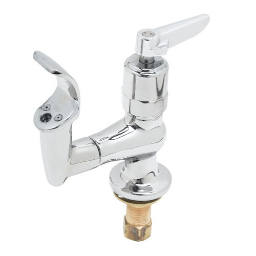 T&S B-2360-02 Bubbler with Lever Handle, Brass Mouth Guard, and Anti-Rotation Pins