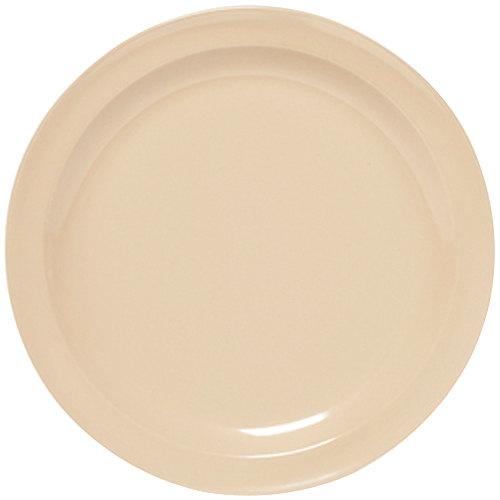 """GET DP-505-T Tan 5 1/2"""" SuperMel Plate - 48/Case"""