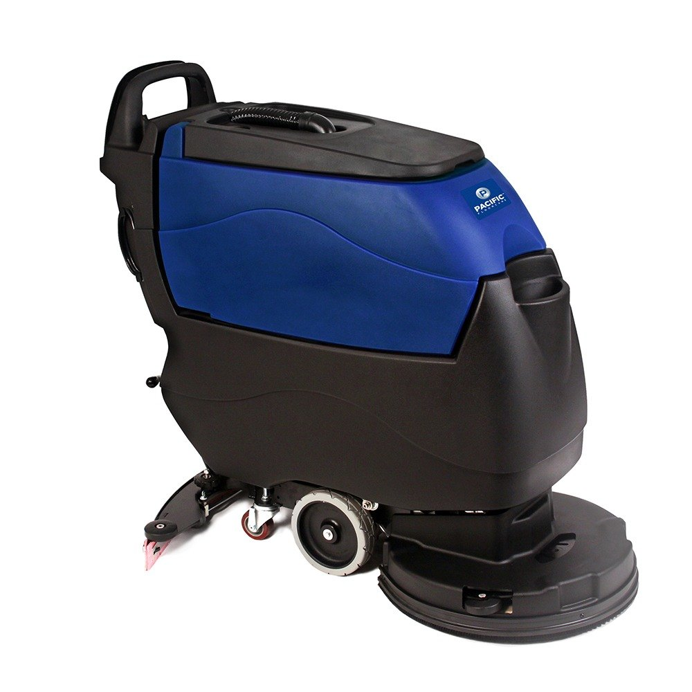 Pacific 855401 s 20 20 walk behind auto floor scrubber for Floor scrubber