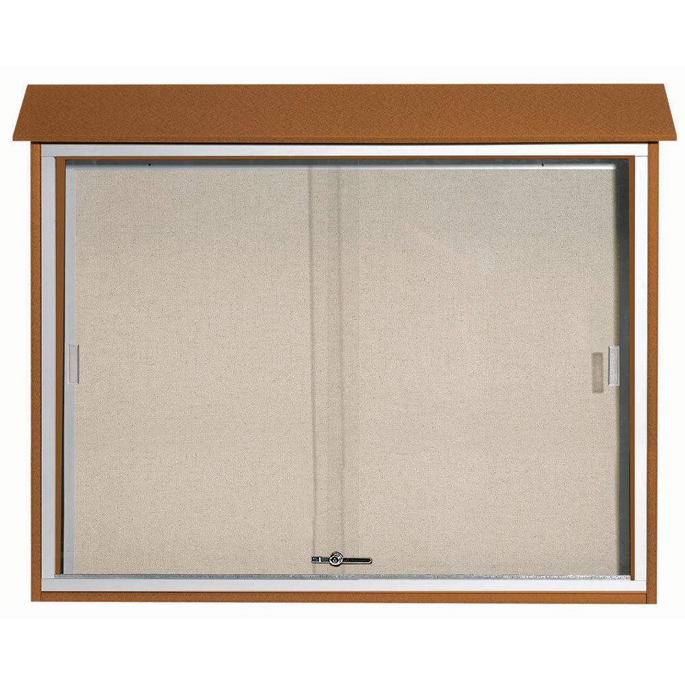 Aarco 36 x 45 cedar outdoor plastic lumber message for Sliding door for main door