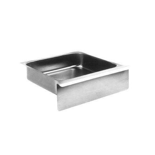 """Eagle Group 502942 Stainless Steel 20"""" x 15"""" x 5"""" Work Table Drawer with Pull Flange and Full Front Main Image 1"""