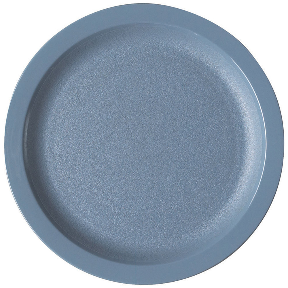 Cambro 825CWNR401 Camwear 8 1/4 inch Slate Blue Polycarbonate Narrow Rim Plate - 48  sc 1 st  WebstaurantStore & Polycarbonate Dinnerware | Polycarbonate Tableware