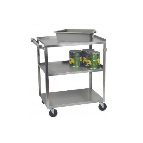 """Stainless Steel 3 Shelf Utility Cart - 31"""" x 18"""" x 32"""""""