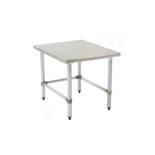 """Eagle Group TMS2424 24"""" x 24"""" Open Base Mixer Stand with Galvanized Legs"""