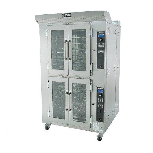 Doyon CA12G Circle Air Liquid Propane Double Deck Bakery Convection Oven with Rotating Racks - 208V, 157,000 BTU