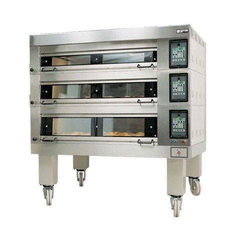 """Doyon 4T3 Artisan 3 Stone Side Load 56"""" Deck Oven - 12 Pan Capacity, 480V, 3 Phase"""