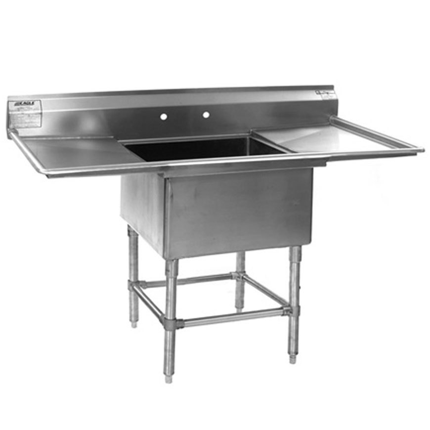 Compartment Sink : ... Steel Spec-Master Commercial Compartment Sink with Two 24