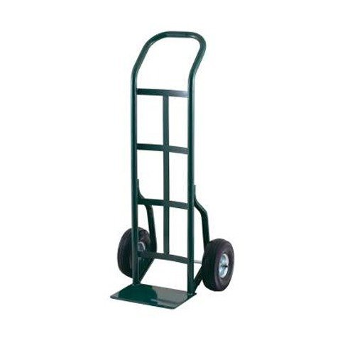 """Harper 30T64 Continuous Handle 800 lb. Steel Hand Truck with 10"""" x 2 1/2"""" Solid Rubber Wheels"""