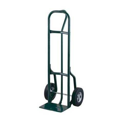 """Harper 27T61 Loop Handle 800 lb. Steel Hand Truck with 8"""" x 1 5/8"""" Mold-On Rubber Wheels and Reinforced Base"""