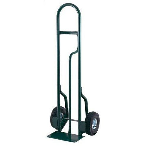 "Harper CTL60 Loop Handle 600 lb. Tall Steel Hand Truck with 10"" x 2 1/2"" Solid Rubber Wheels"