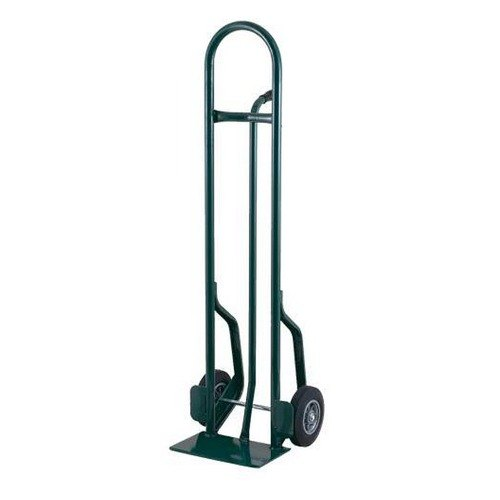 """Harper CTP86 Single Pin Handle 600 lb. Tall Steel Hand Truck with 10"""" x 2"""" Solid Rubber Wheels"""