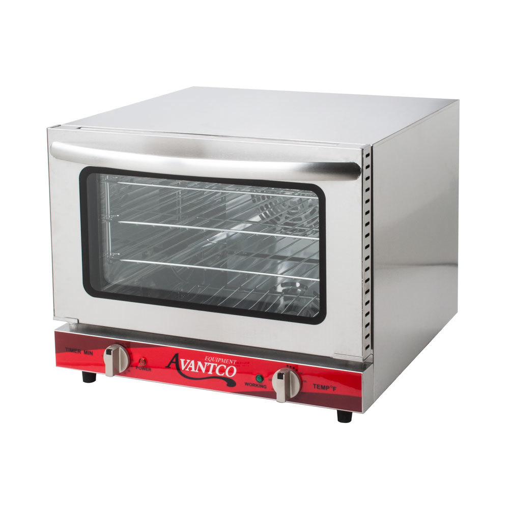 ... CO-14 Quarter Size Countertop Convection Oven, 0.8 Cu. Ft. - 120V
