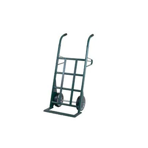 """Harper AM253W87 Dual Handle 1500 lb. Hand Truck with 10"""" x 2 1/2"""" Mold-On Rubber Wheels"""