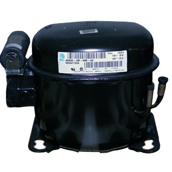 True 842091 1/3 hp Compressor with Overload, Relay, and Start Capacitor - 115V, R-404A Main Image 1