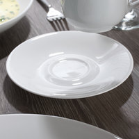 Chef & Sommelier S0133 Embassy 6 inch White Saucer by Arc Cardinal - 24/Case